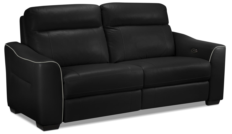 Bolton Power Reclining Sofa - Black