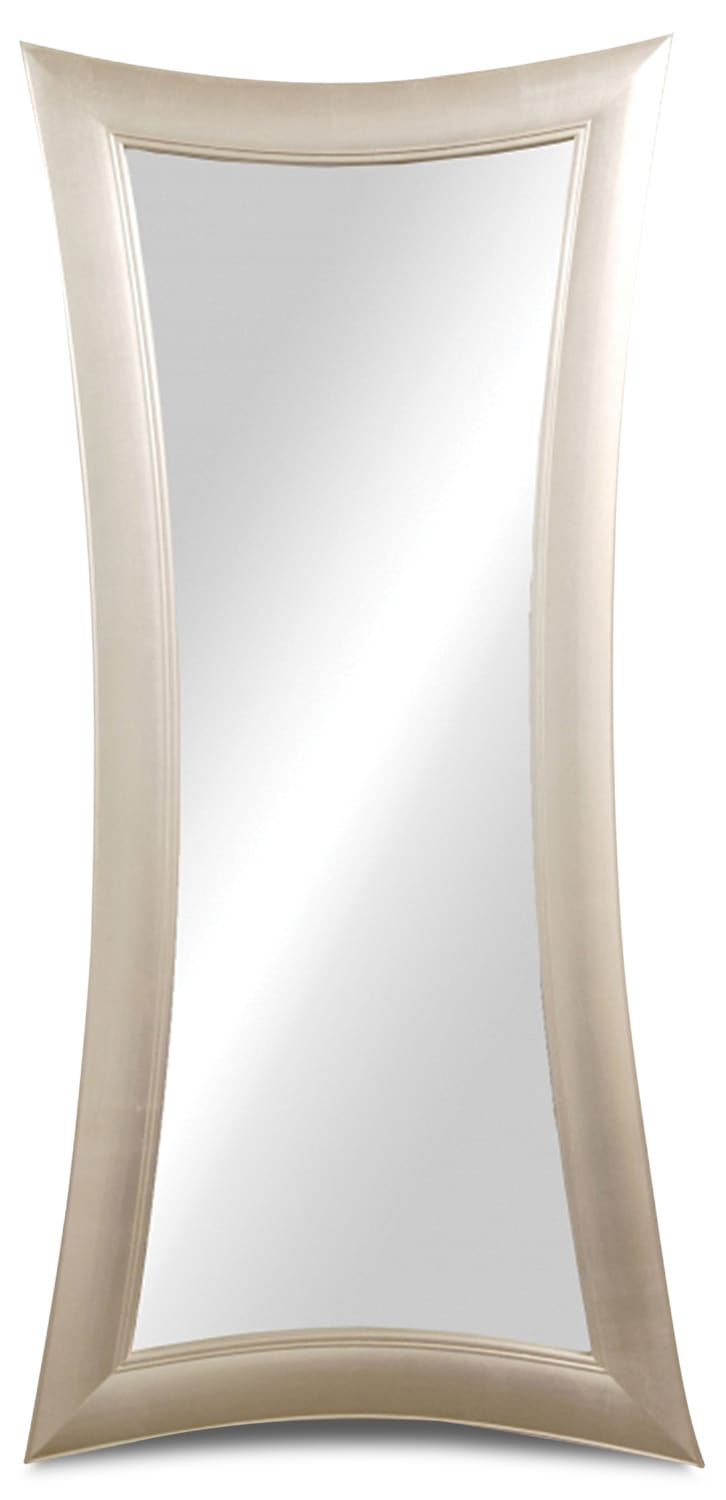 Home Accessories - Antibes Champagne Leaner Mirror