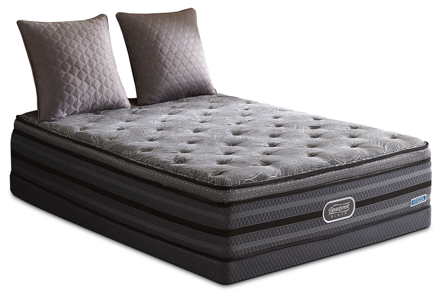 Beautyrest Black Legendary Comfort-Top Luxury Firm King Mattress Set
