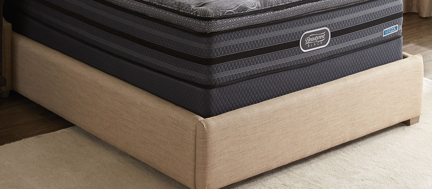 Mattresses and Bedding - Beautyrest Black Queen Boxspring