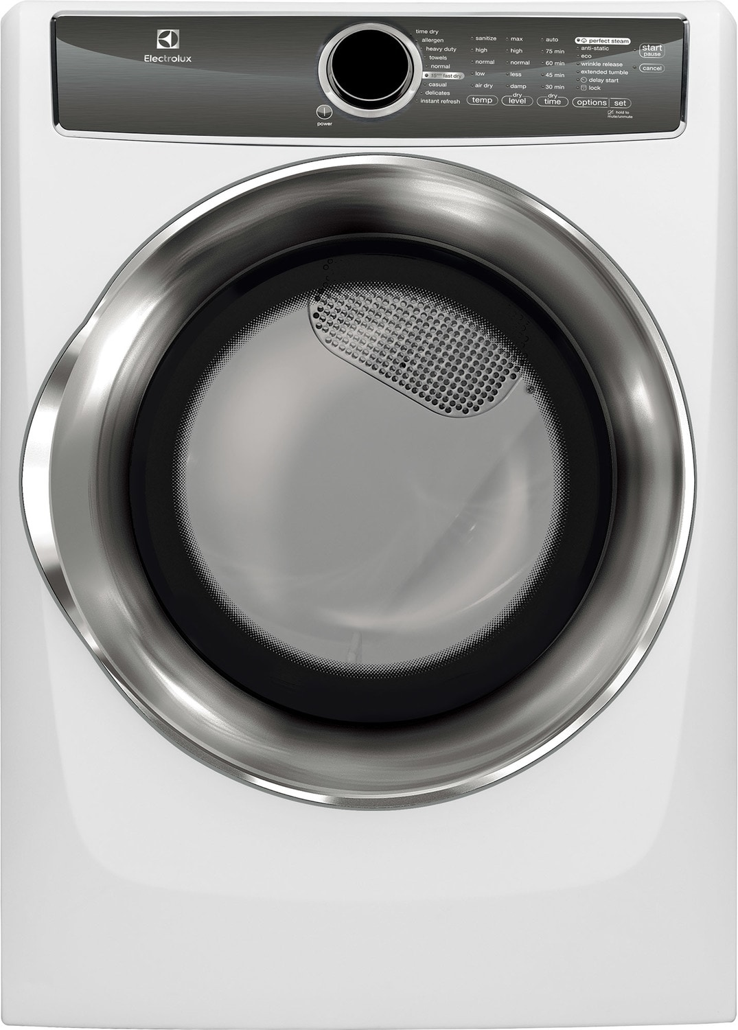 Electrolux White Electric Dryer (8.0 Cu. Ft.) - EFMC617SIW