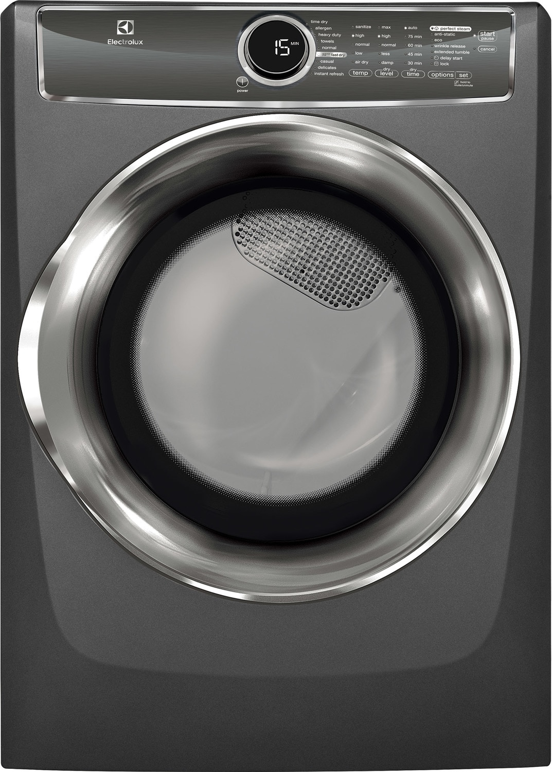 Electrolux Titanium Electric Dryer (8.0 Cu. Ft.) - EFMC617STT
