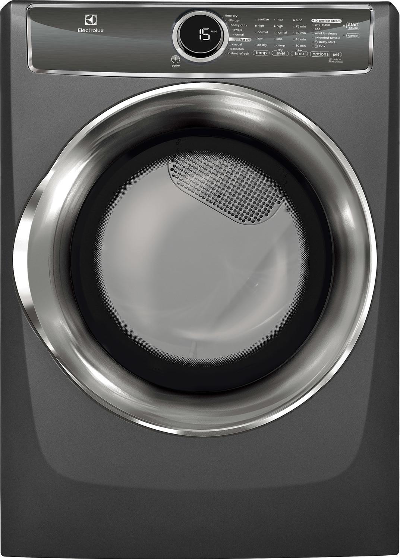 Electrolux titanium gas dryer 8 0 cu ft efmc617stt Electrolux washer and dryer