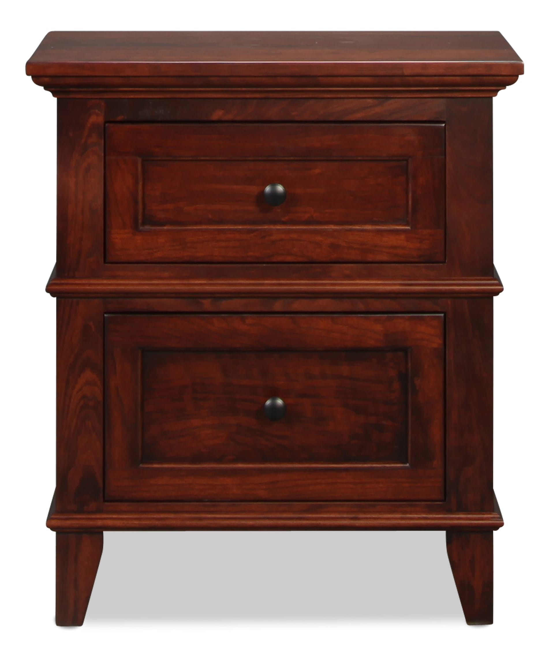 Brentwood 2 Drawer Nightstand
