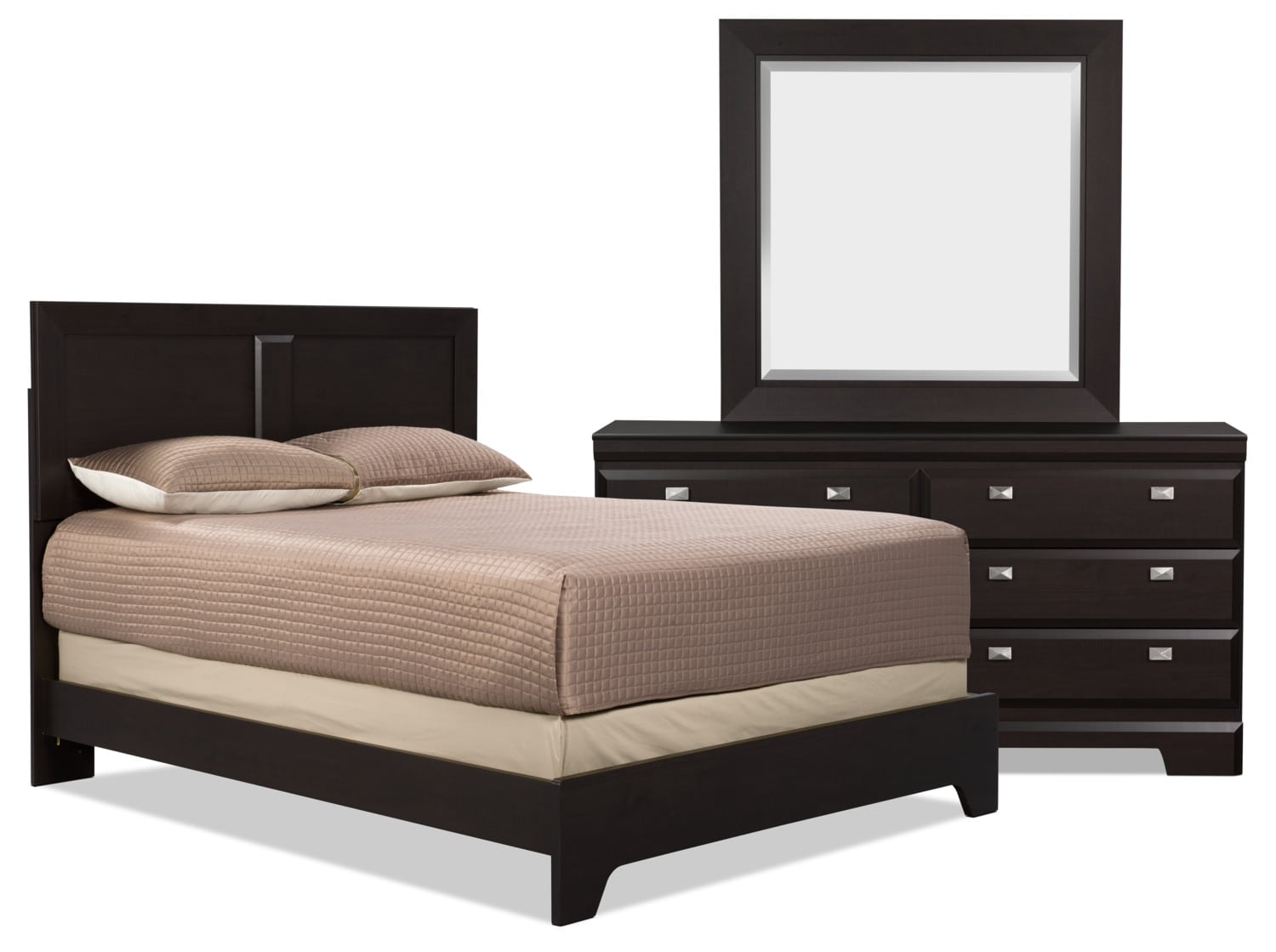 Bedroom Furniture - Yorkdale 5-Piece King Bedroom Package