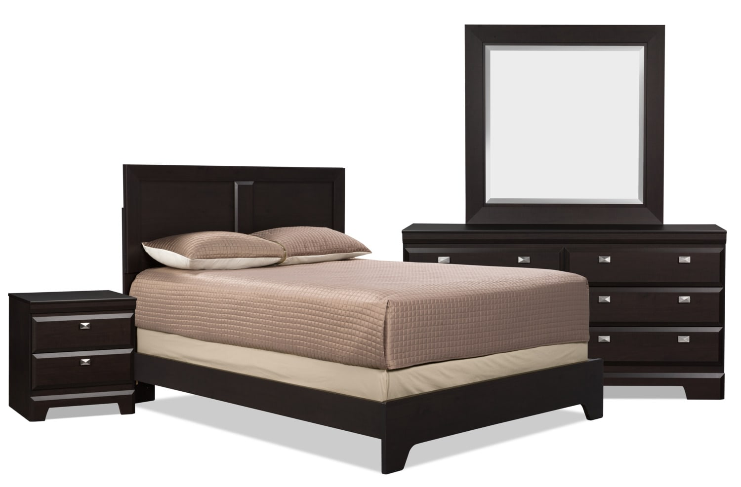 Yorkdale 6 Piece Queen Bedroom Package