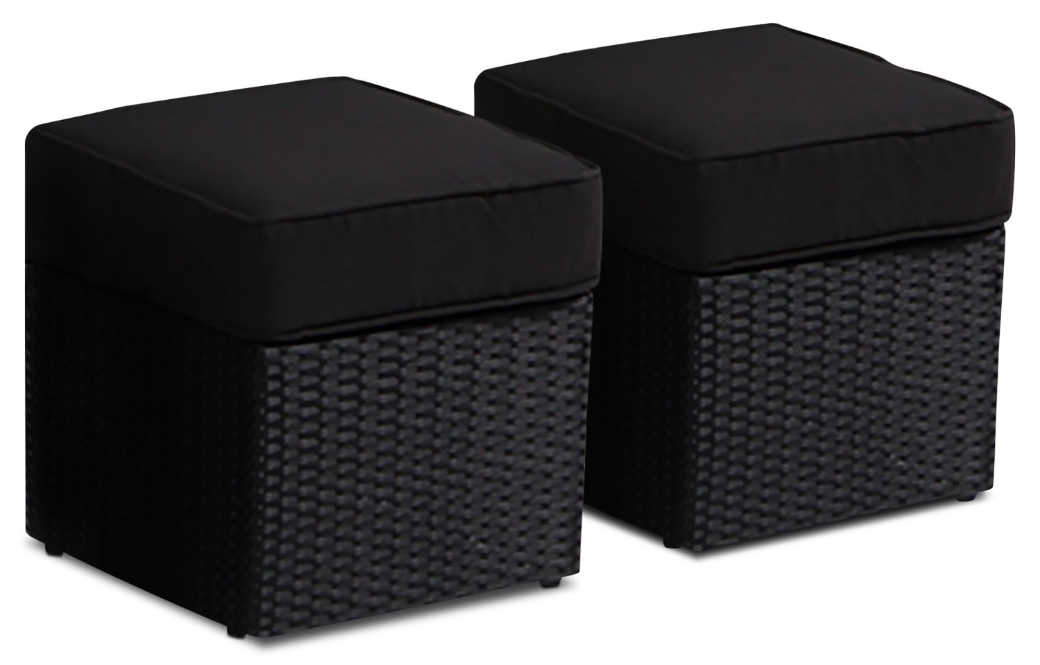 Minnesota Patio Ottomans, Set of 2
