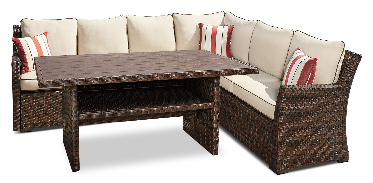 Salceda 3-Piece Patio Sectional Set