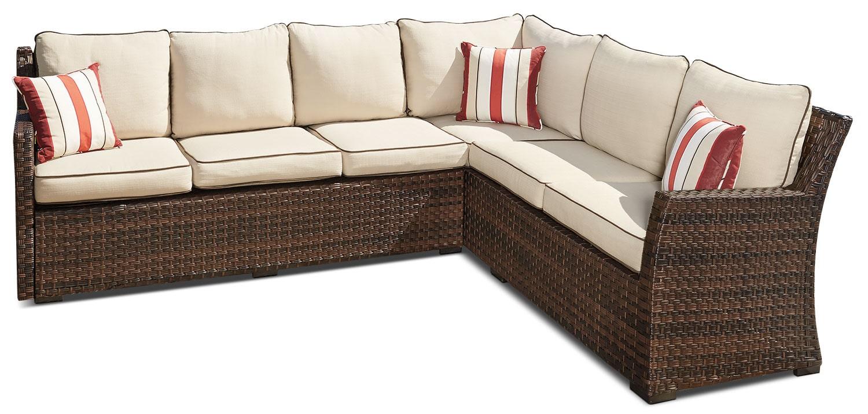 Outdoor Furniture - Salceda 3-Piece Patio Sectional Set