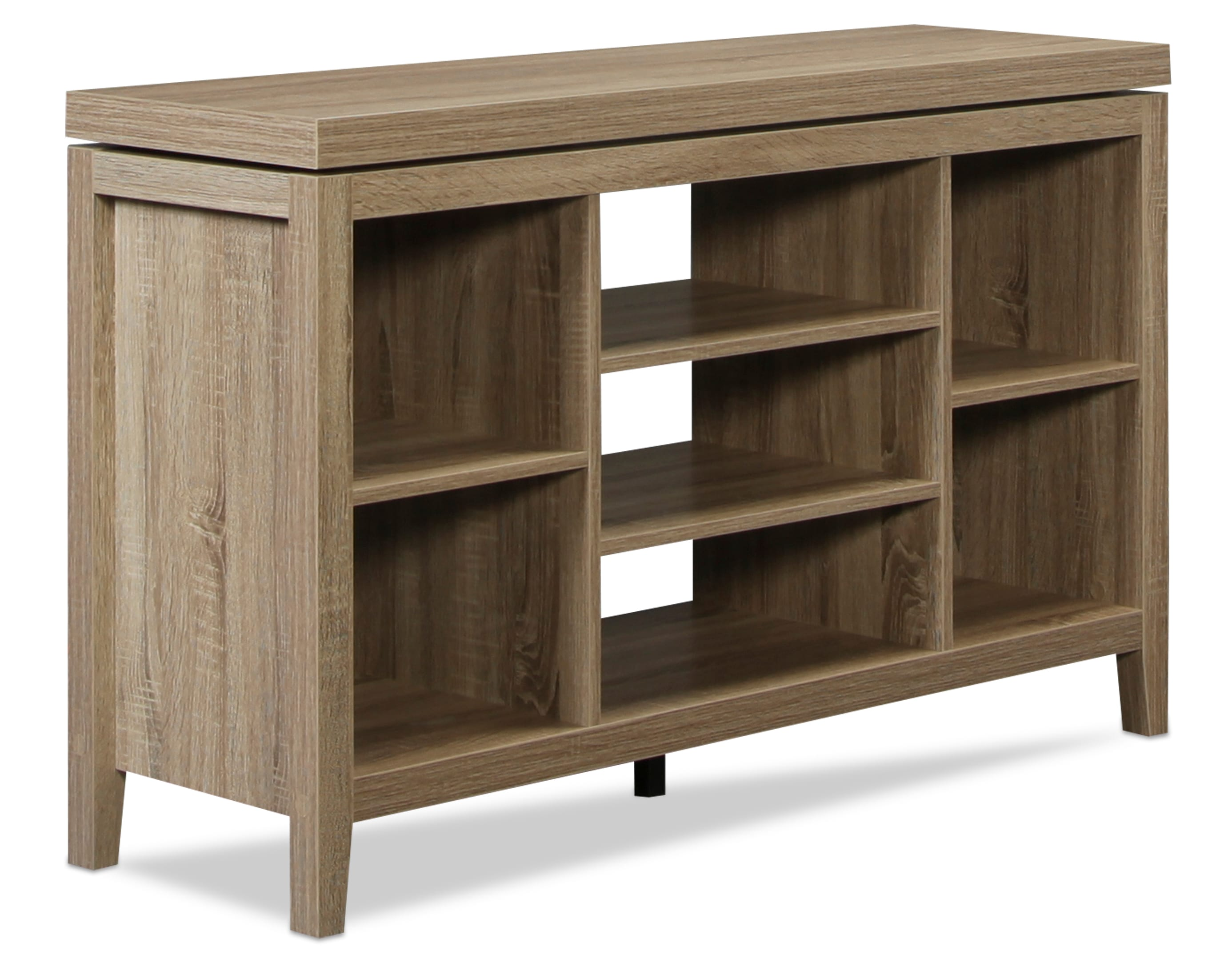 Audra TV Stand - Driftwood