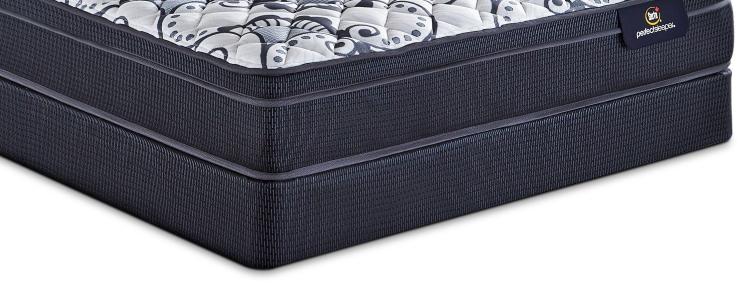Mattresses and Bedding - Serta Perfect Sleeper 2017 Queen Boxspring