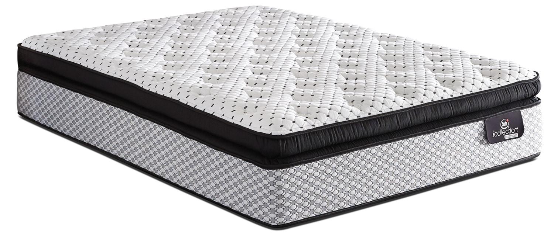 Mattresses and Bedding - Serta iCollection® Harmonie Super Pillow-Top Plush Queen Mattress