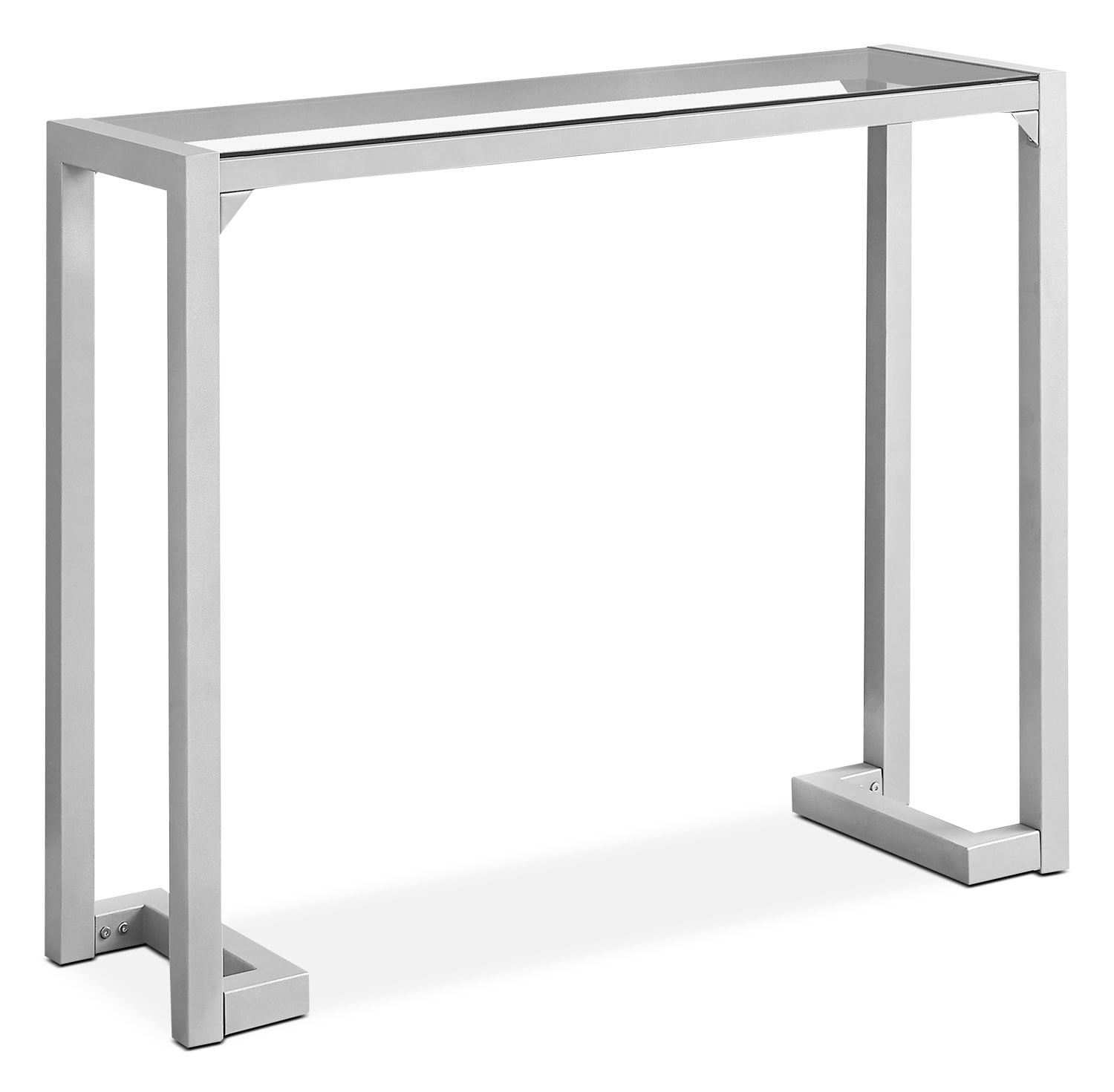 Megan Console Table – Silver