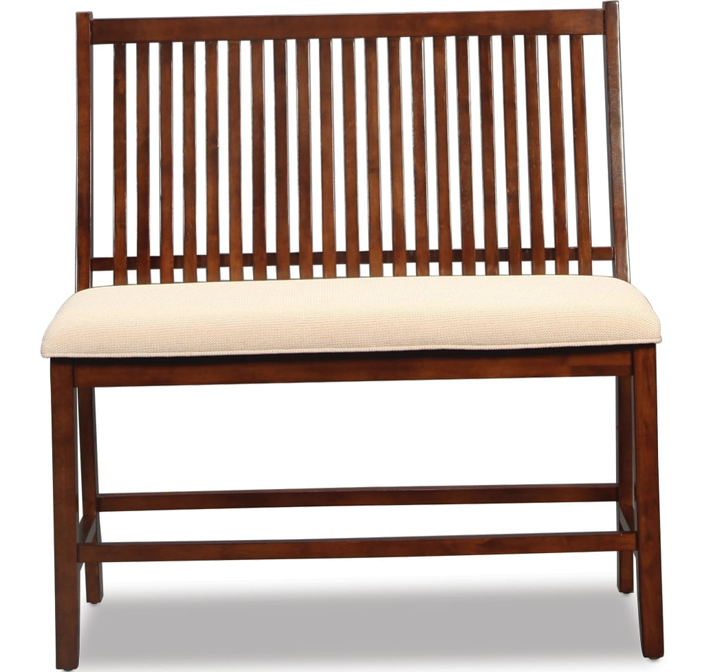 Leavenworth Counter-Height Bench