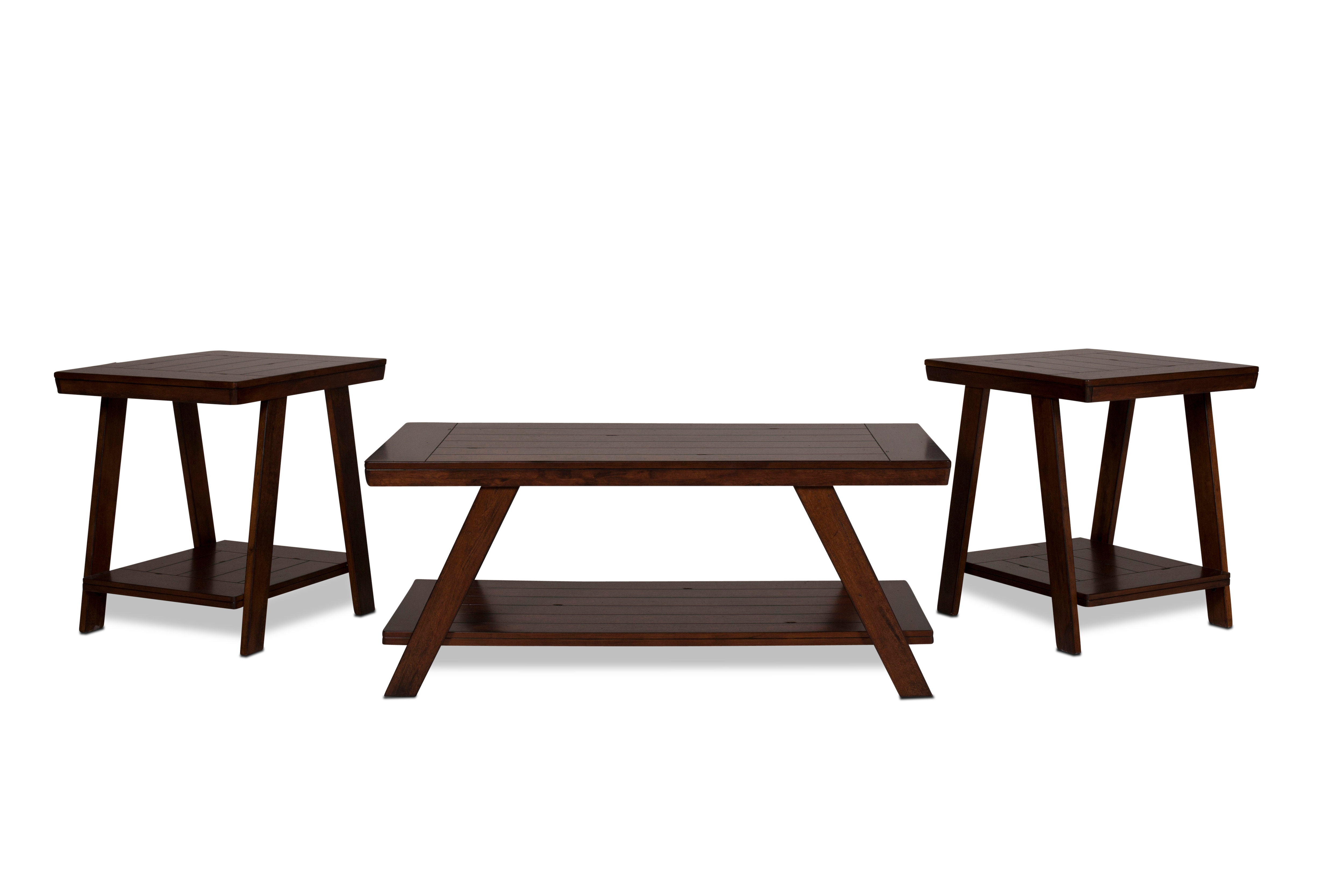 Norfolk Coffee Table and 2 End Tables