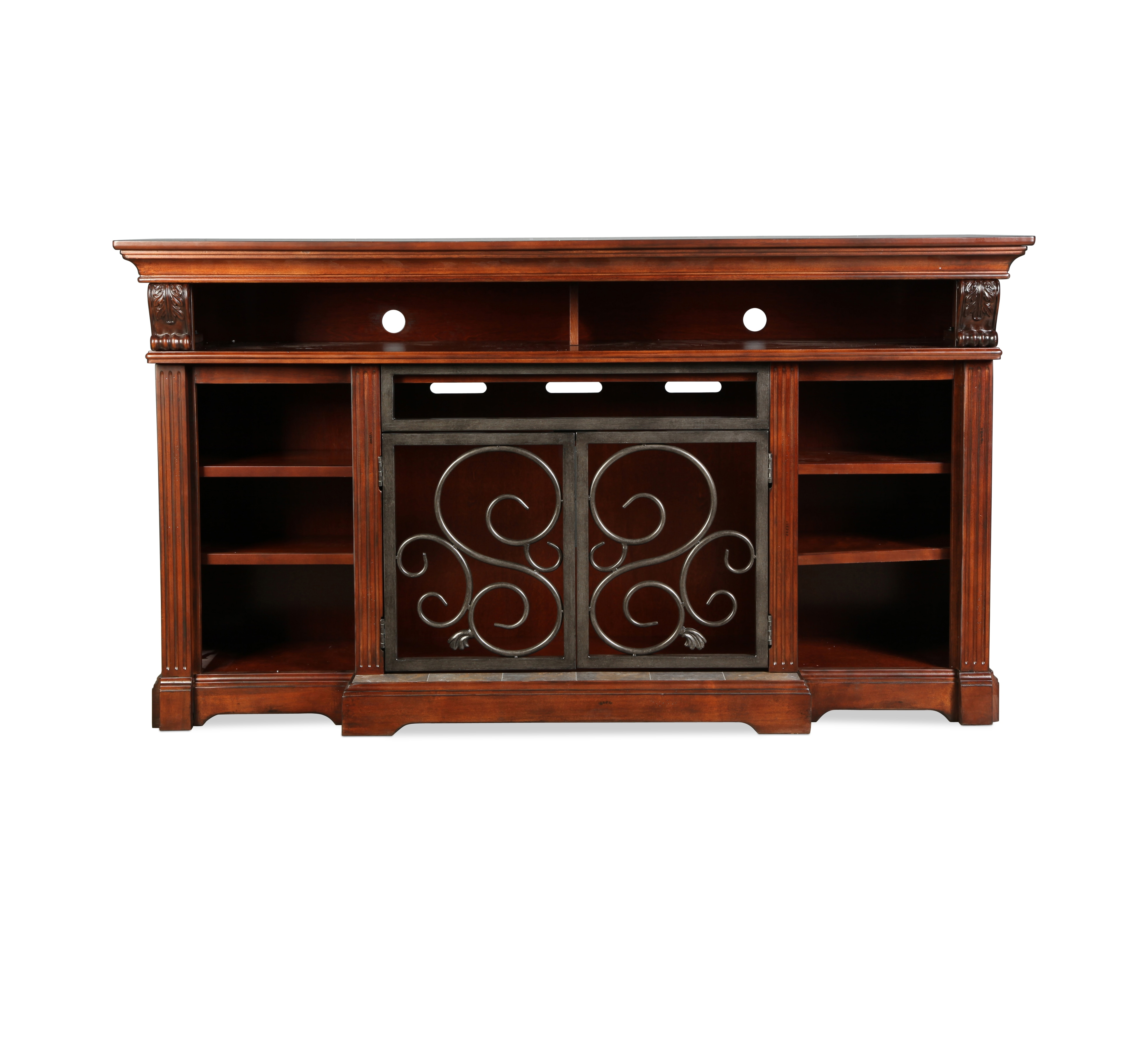 Amelia TV Stand - Rustic Brown