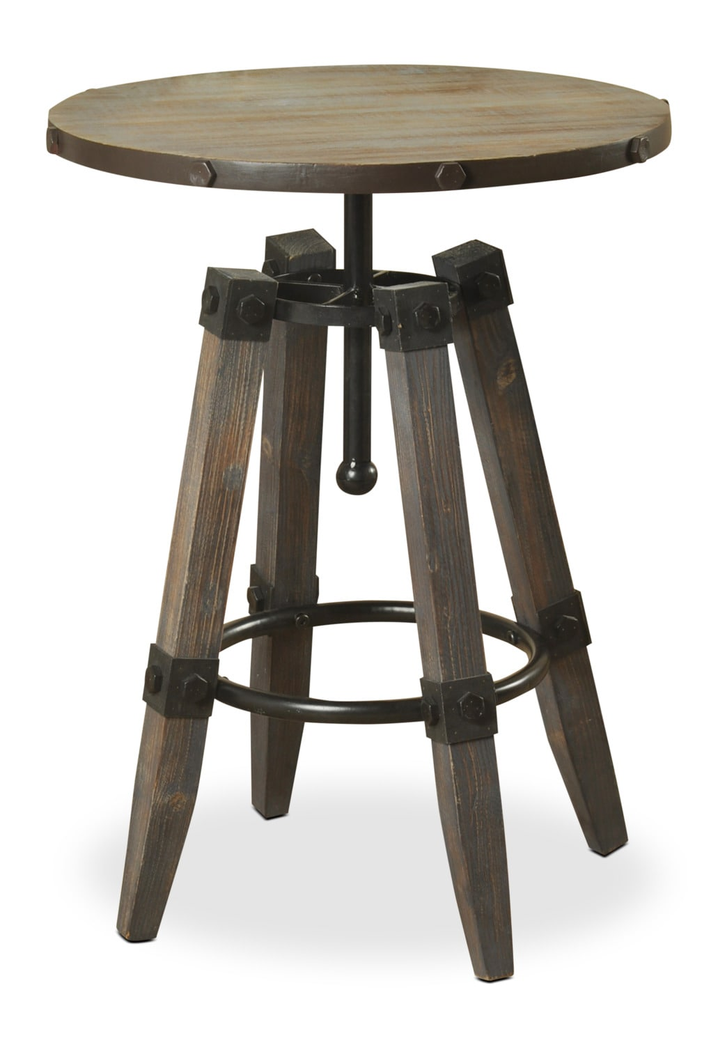 Accent and Occasional Furniture - Hanley Accent Table – Slate Grey
