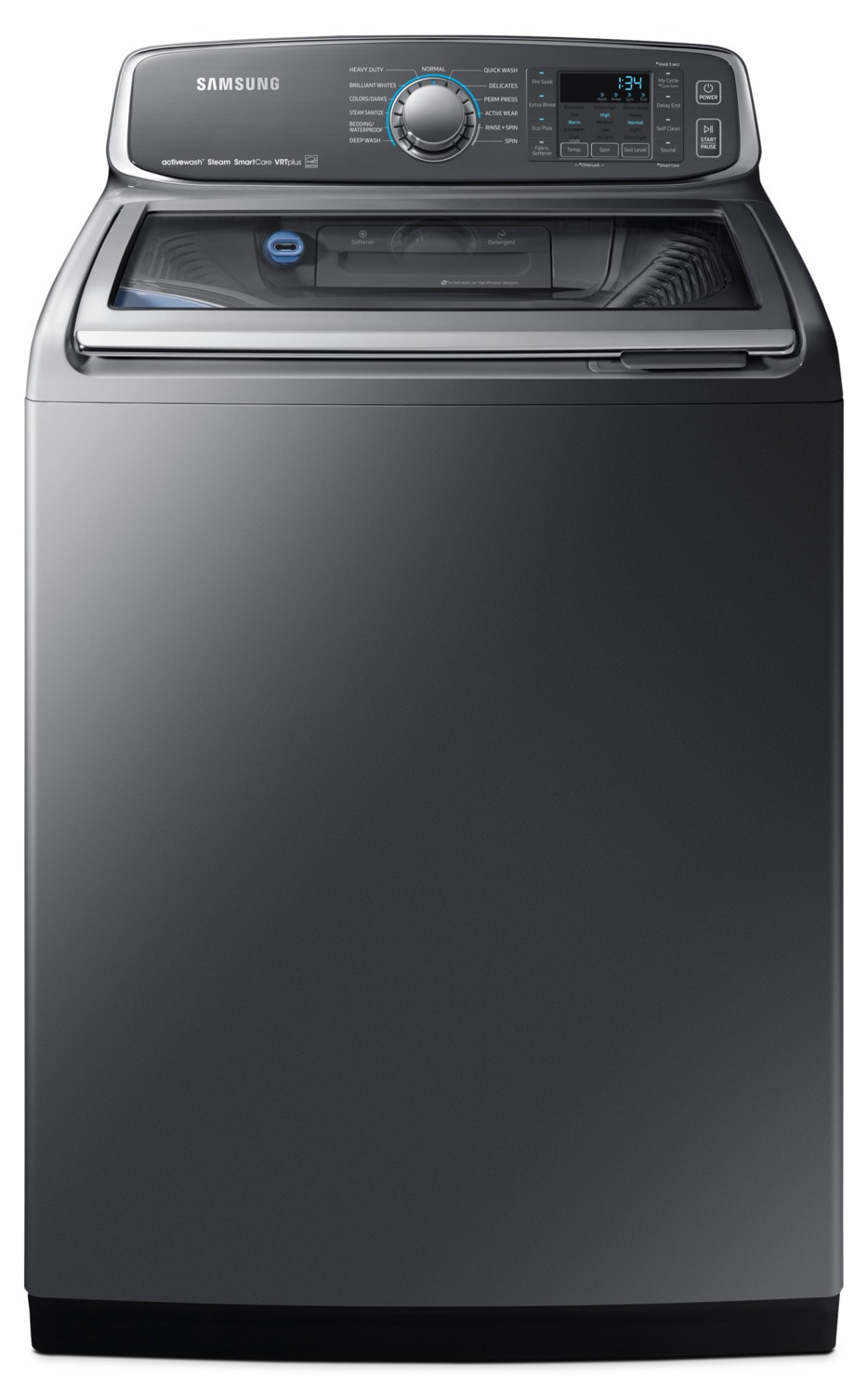 Washers and Dryers - Samsung 6.0 Cu. Ft. Top-Load Washer – WA52M7755AP/A4