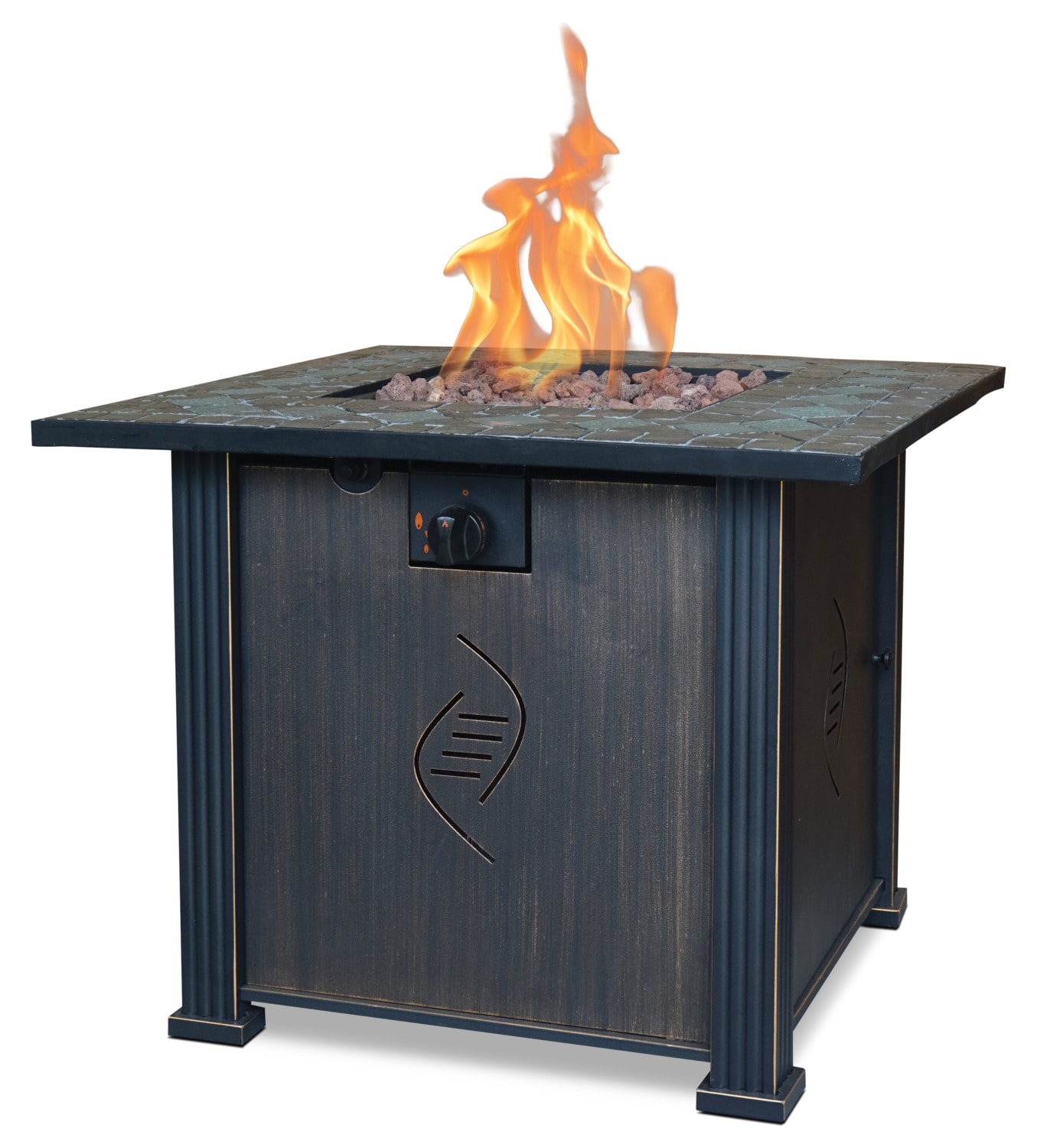 "Outdoor Furniture - Rockwell 30"" Gas Fire Table"