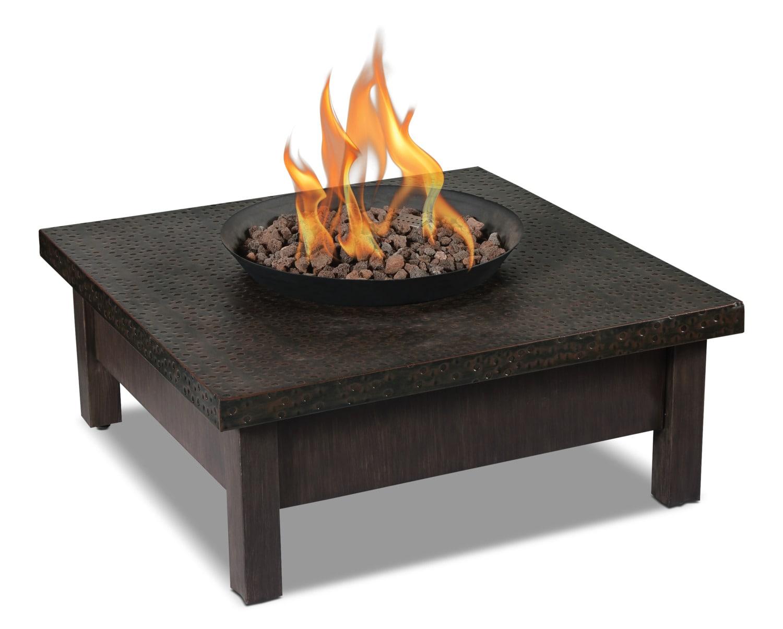 Outdoor Furniture - Larkspur 50,000-BTU Fire Table