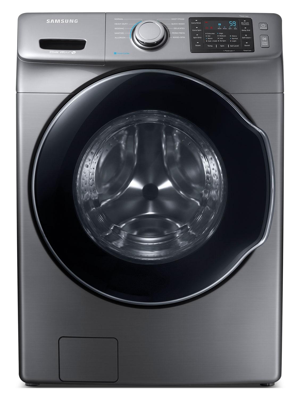 Laveuses et Sécheuses - Laveuse à la vapeur Samsung à chargement frontal de 5,2 pi3 – WF45M5500AP/A5