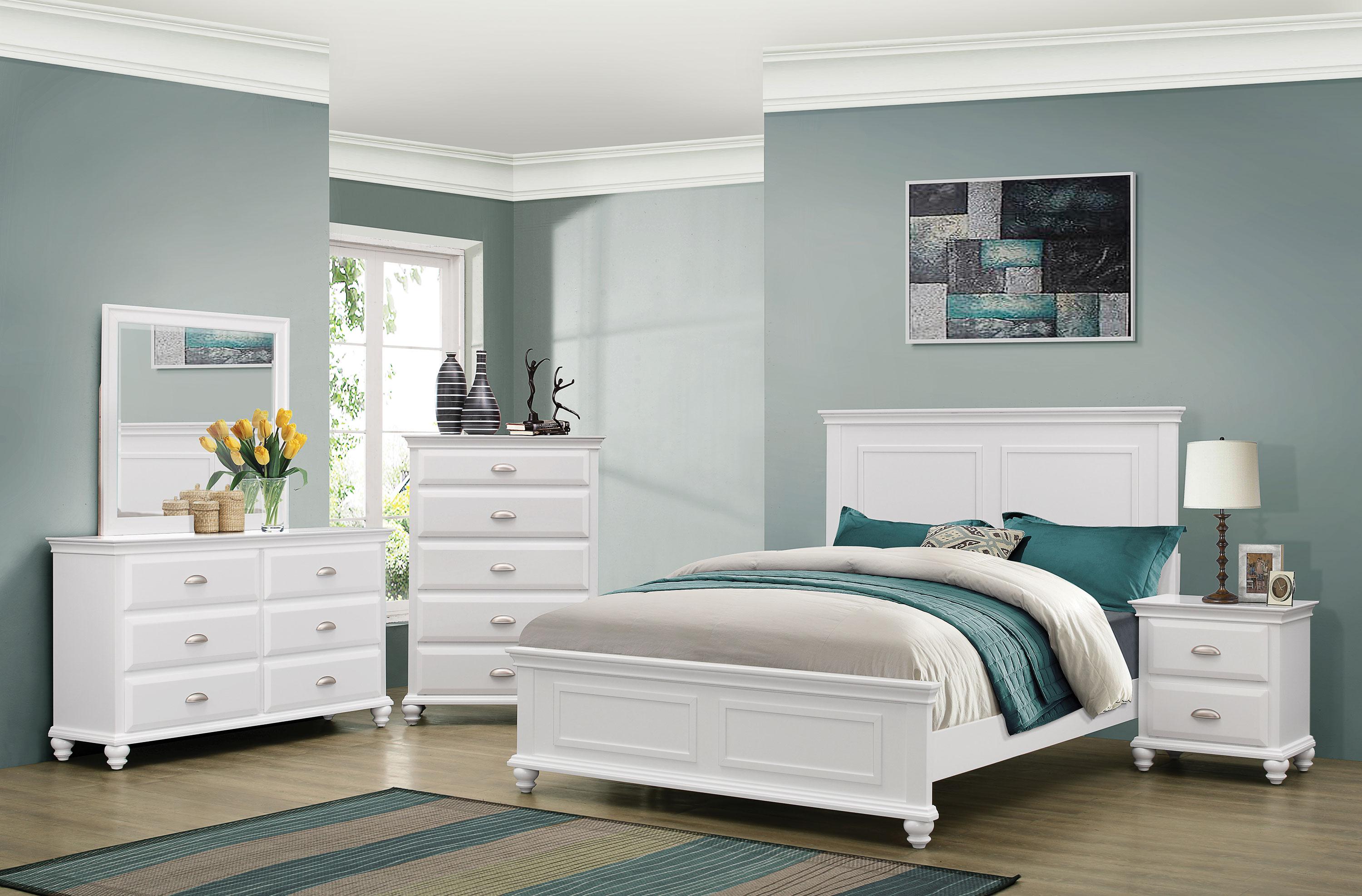 Meadow Shore King Bed