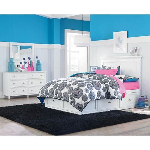 Kids Furniture - Maine Craftsman Ellsworth Twin Bed with 2 Storage Units