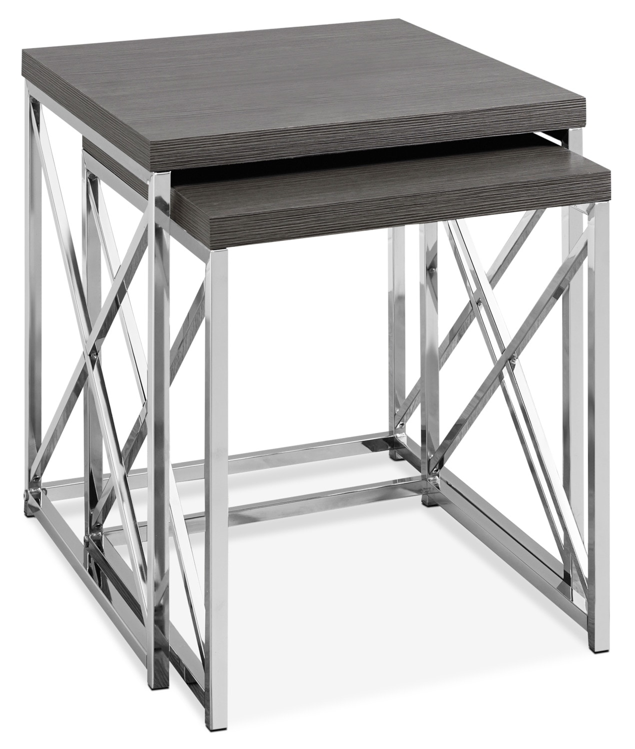 Ensemble 2 tables de bout Jersey