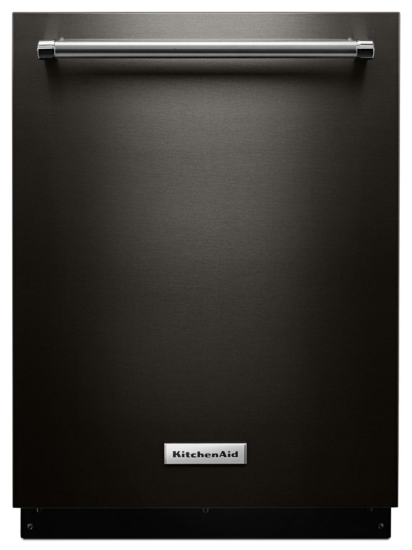 Nettoyage - Lave-vaisselle encastré KitchenAid avec commandes sur le dessus – KDTE104EBS