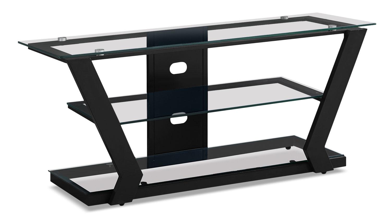 "Entertainment Furniture - Abram 48"" TV Stand – Black"