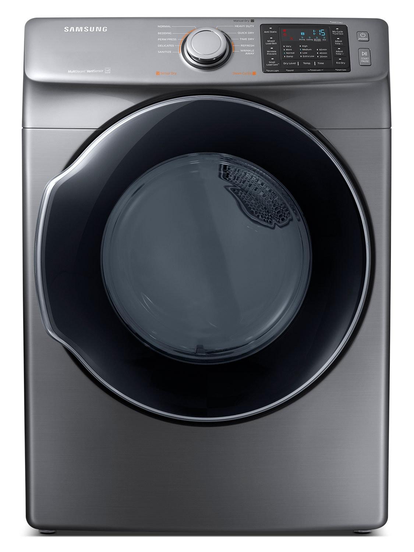 Laveuses et Sécheuses - Sécheuse électrique Samsung de 7,5 pi3 avec fonction MultiSteamMC– DVE45M5500P/AC