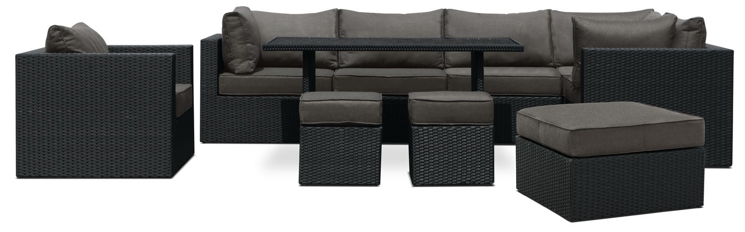 Minnesota 10-Piece Patio Set