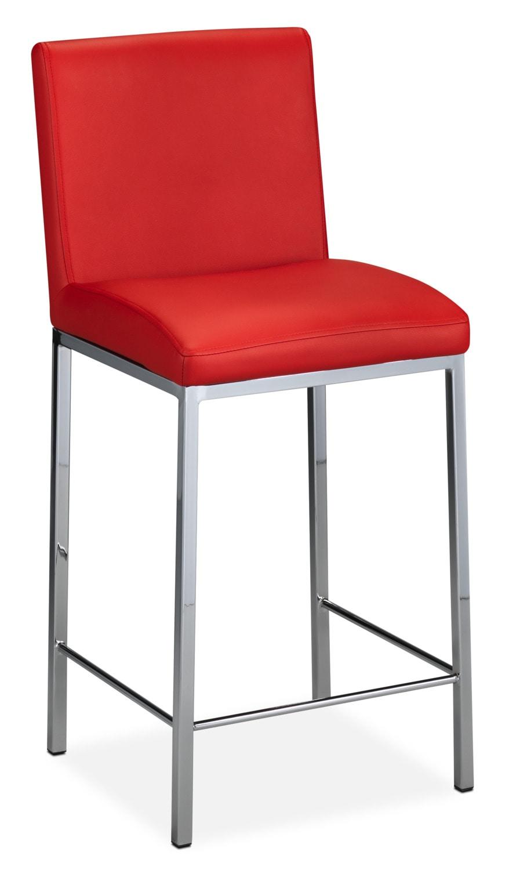 "Ryerson 24"" Barstool - Red"