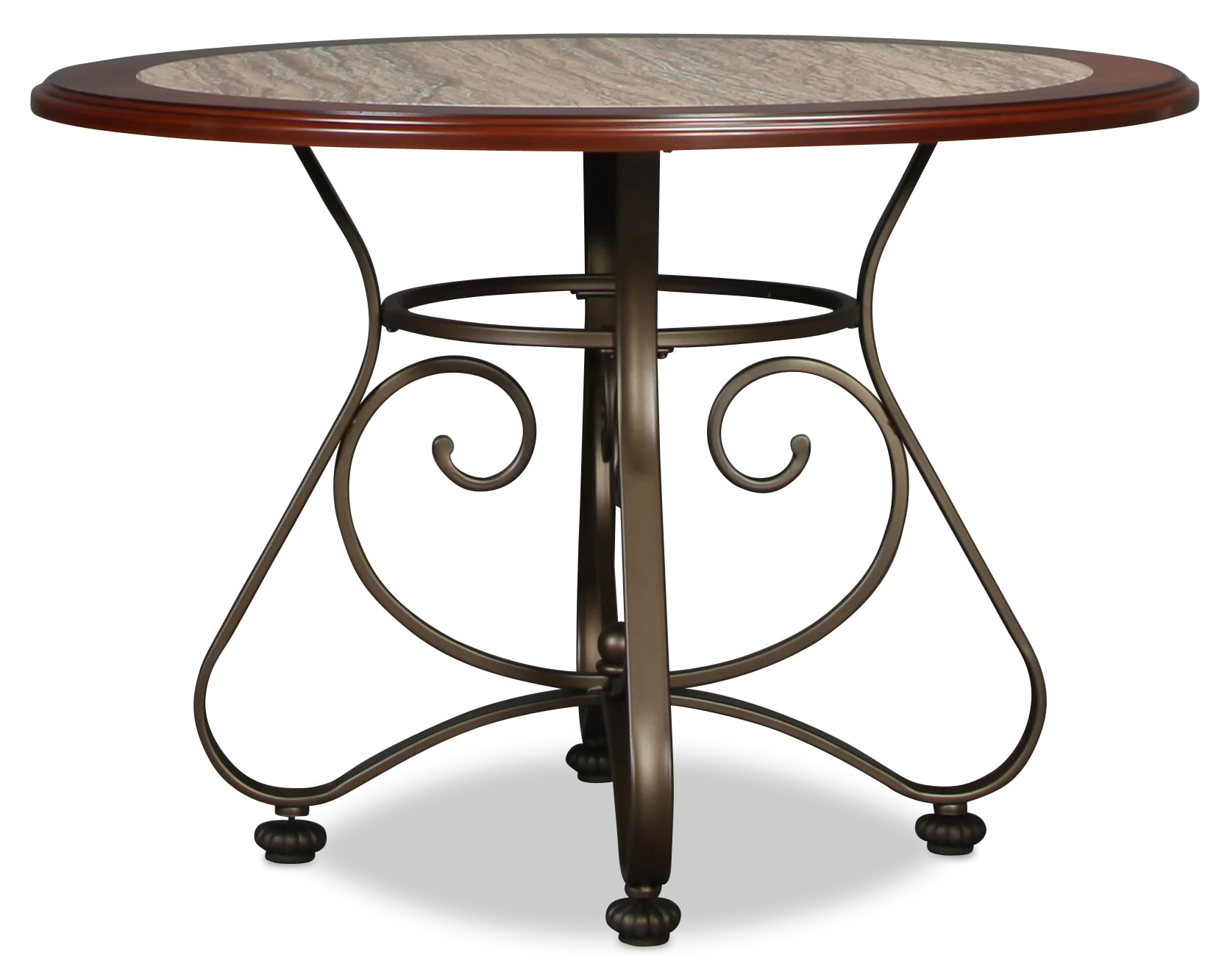 Pinehurst Round Regular Height Dining Table