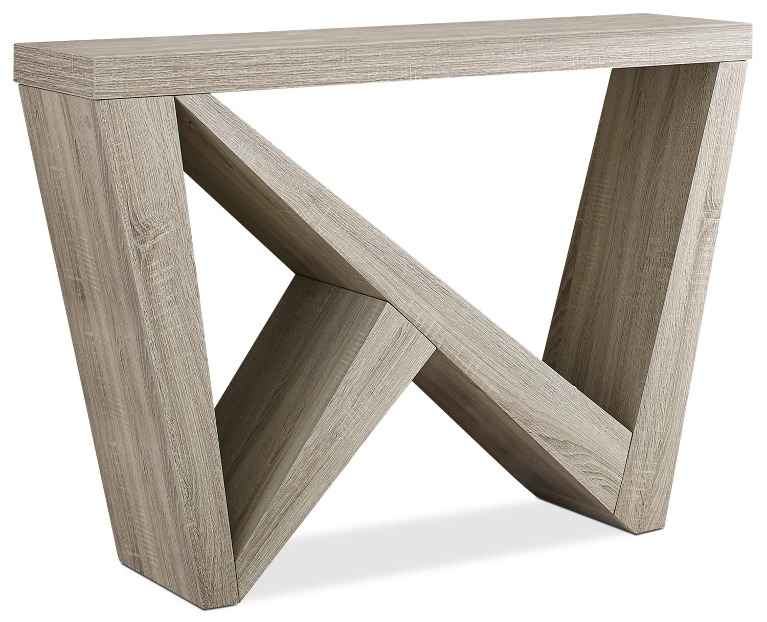 Angola Console Table – Dark Taupe