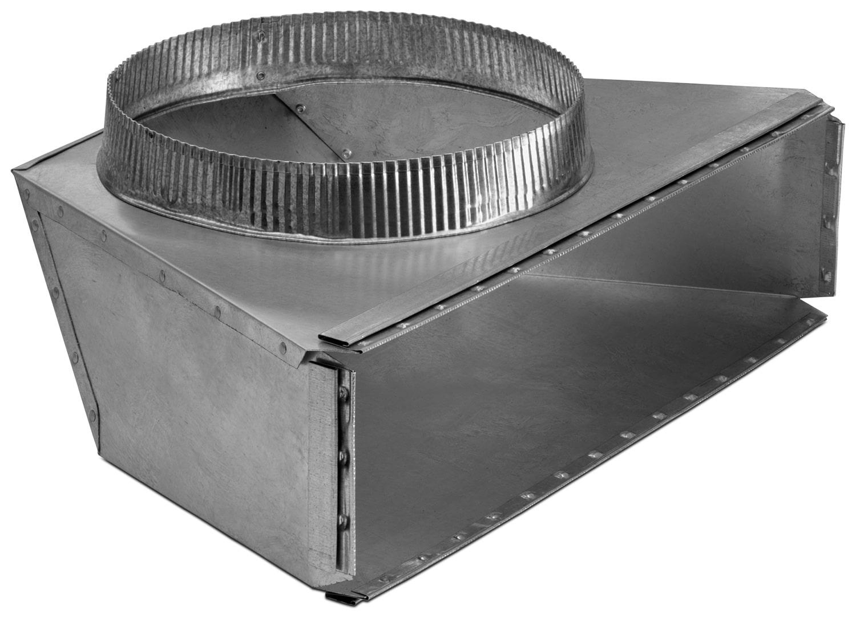 Appliance Accessories - Transition ronde arrière Broan 10 po – 424