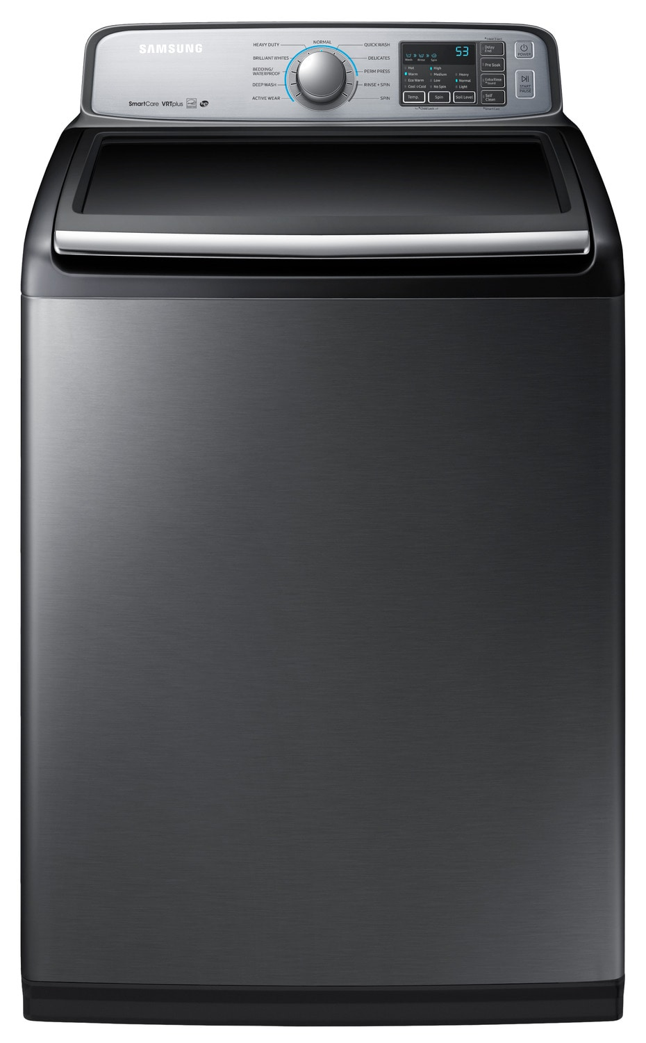 Samsung Platinum Top-Load Washer (5.8 Cu. Ft. IEC) - WA50M7450AP