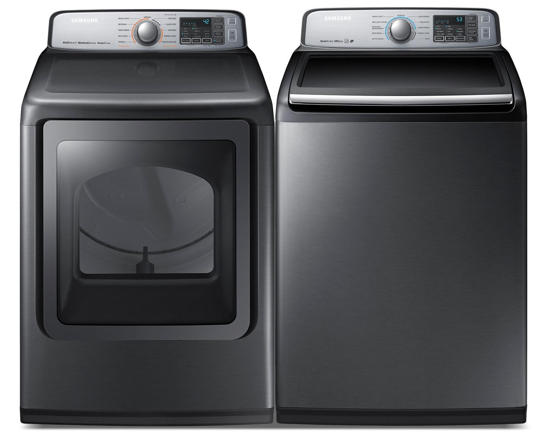 Samsung Laundry - WA50M7450AP/DVE50M7450P/AC