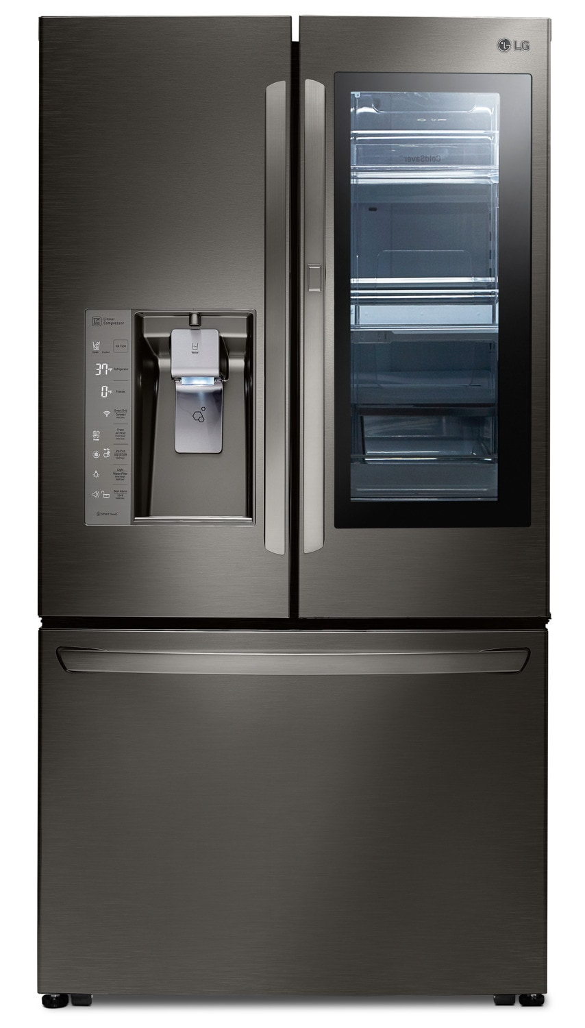 LG French-Door Refrigerator with InstaView™ Door-in-Door® – LFXS30796D