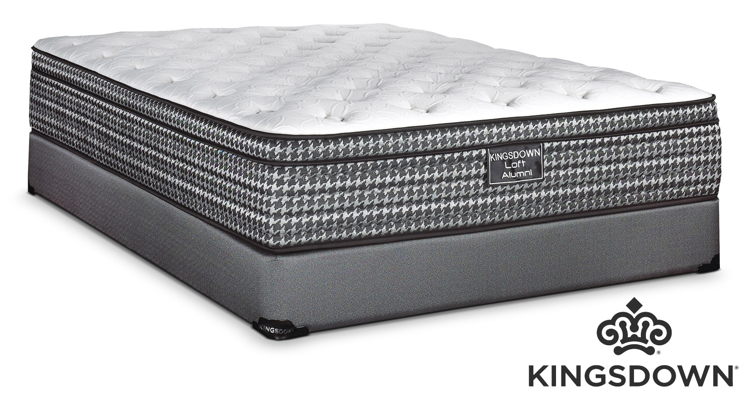 Kingsdown Alumni Queen Mattress/Boxspring Set