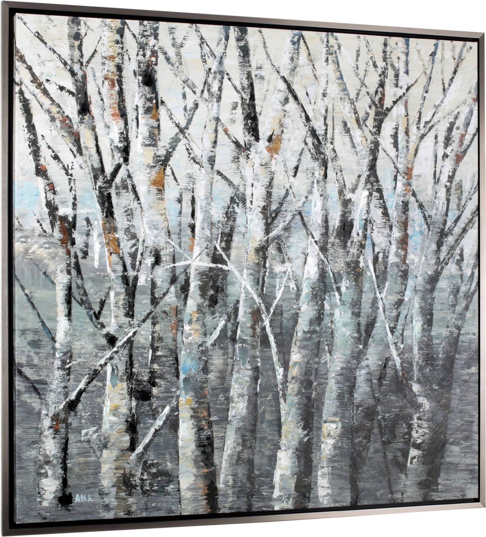 Accessoires pour la maison - Forêt de bouleaux – 46,6 po x 46,6 po