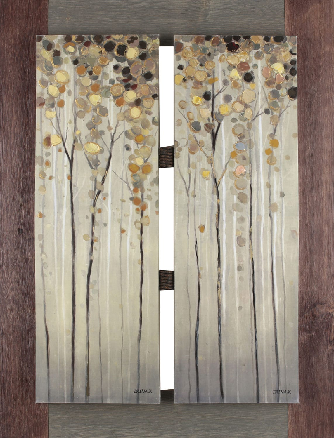 "Home Accessories - Twins Tree – 33"" x 43"""