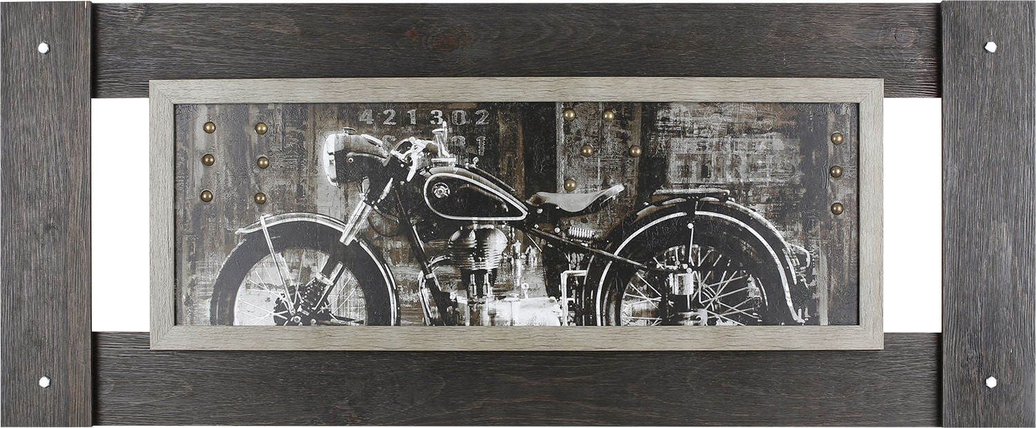 """Home Accessories - Vintage Motorcycle – 54"""" x 22"""""""