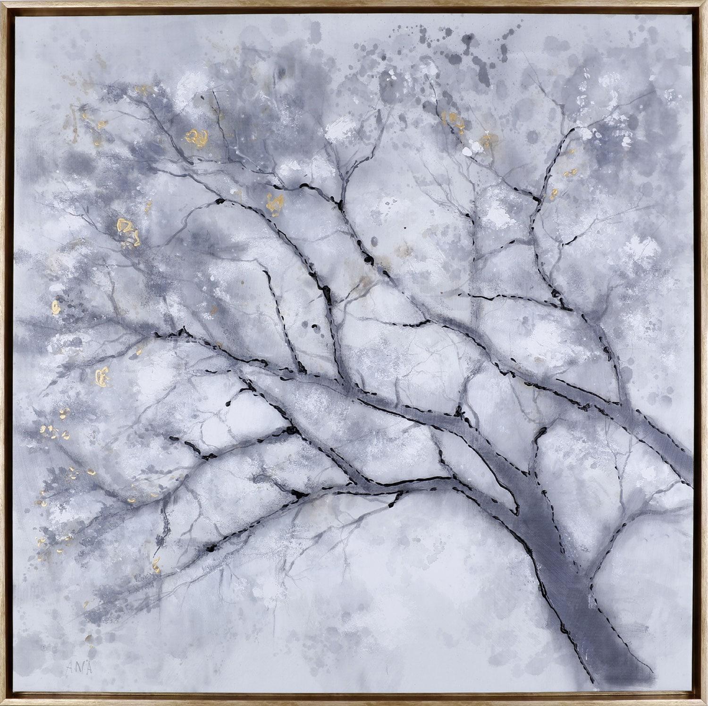 "Shadow Tree I – 37.5"" x 37.5"""