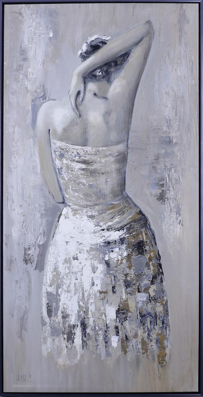 "Elegant Lady – 28"" x 55"""