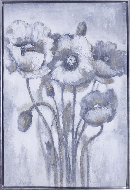 """Gold Floral I – 26.5"""" x 38.5"""""""