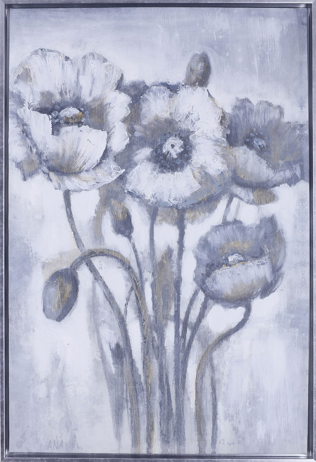 """Home Accessories - Gold Floral I – 26.5"""" x 38.5"""""""