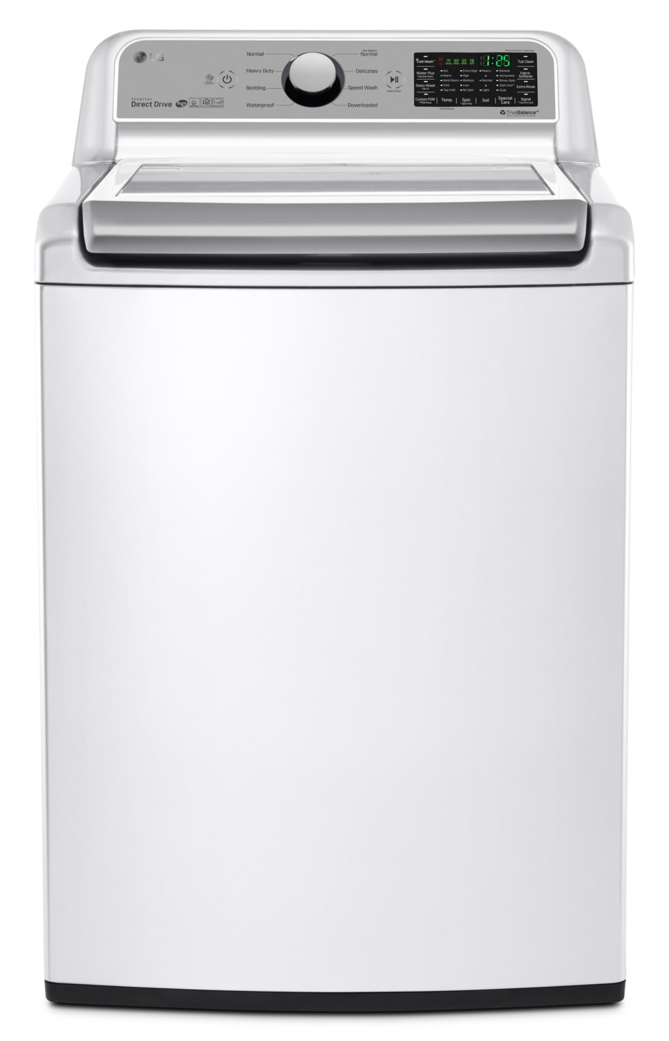 Washers and Dryers - LG 5.8 Cu. Ft. Top-Load Washer with 6Motion™ Technology – WT7200CW