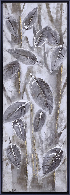 "Home Accessories - Brown Leaves II – 18.5"" x 50.5"""