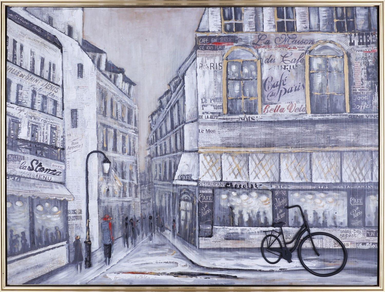 """Café Paris – 43"""" x 33"""""""